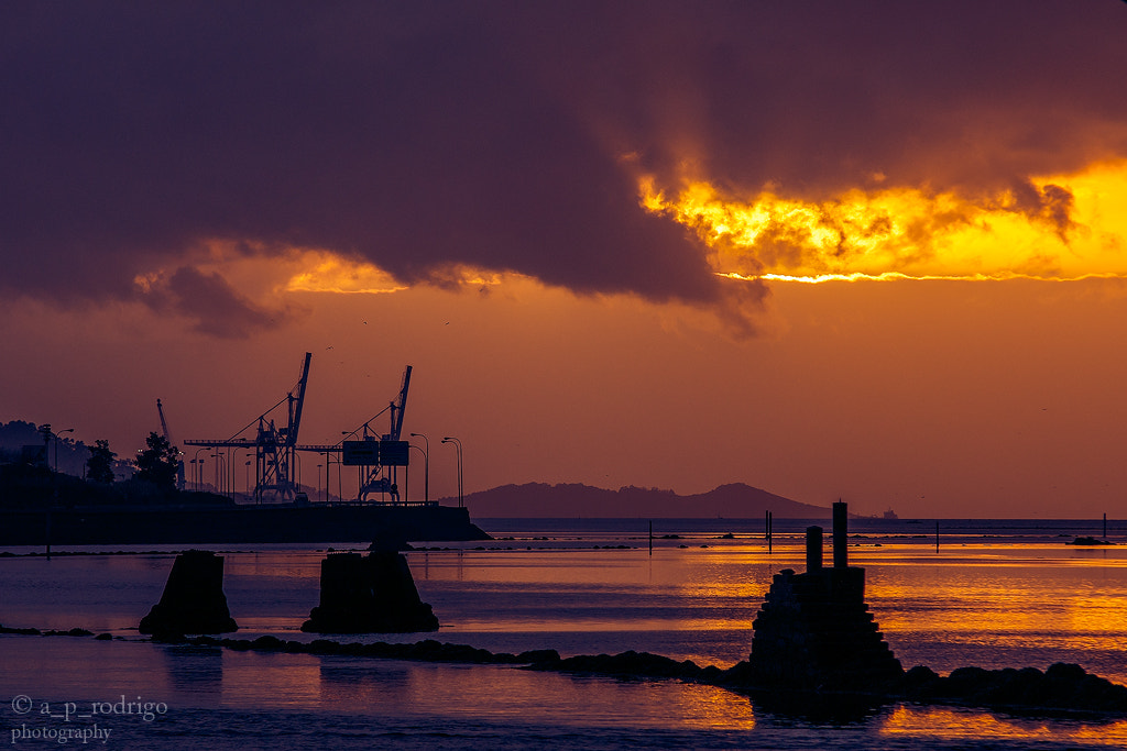 Photograph Sunset in Pontevedra by a_p_rodrigo . on 500px