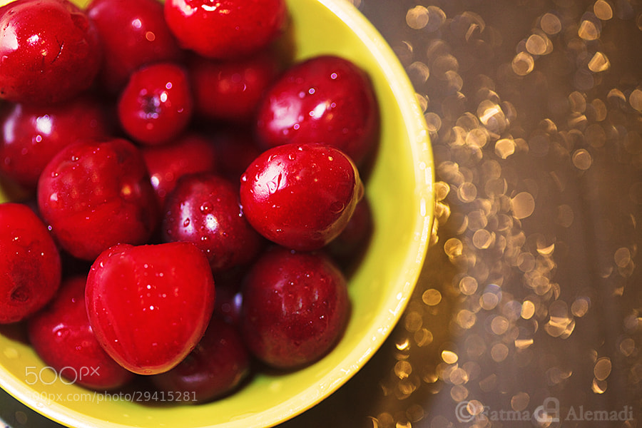Photograph Cherries  by Fatma Alemadi on 500px
