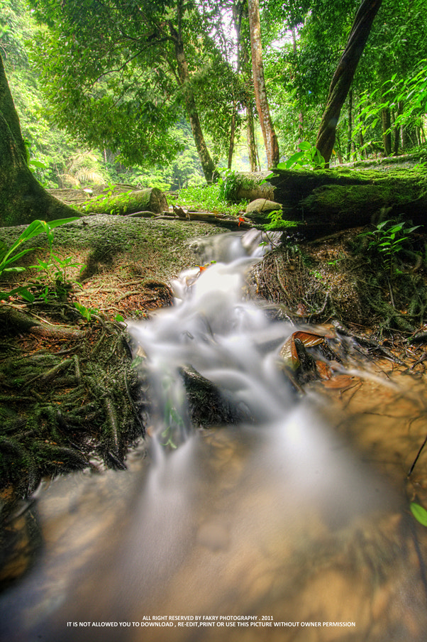 Photograph Little Waterfall by Fakry Photo on 500px