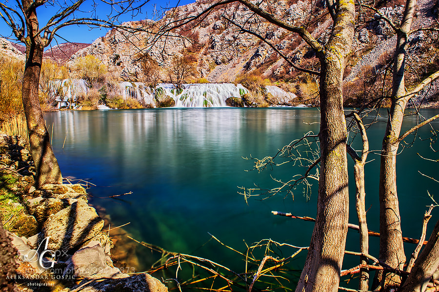 Perfect wednesday inside the canyon of river Krupa, which is cut into the slopes of Velebit mountain