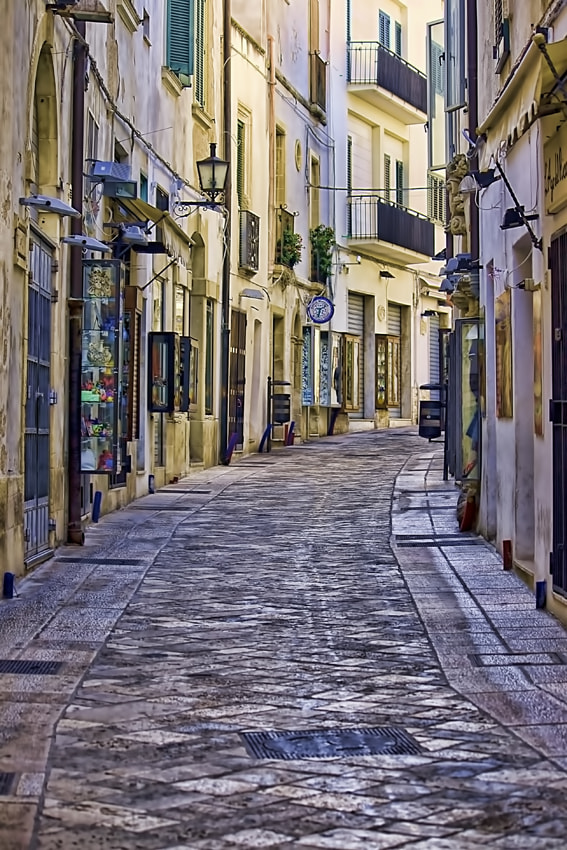 Photograph Alley of Otranto by Massimo Renzi on 500px