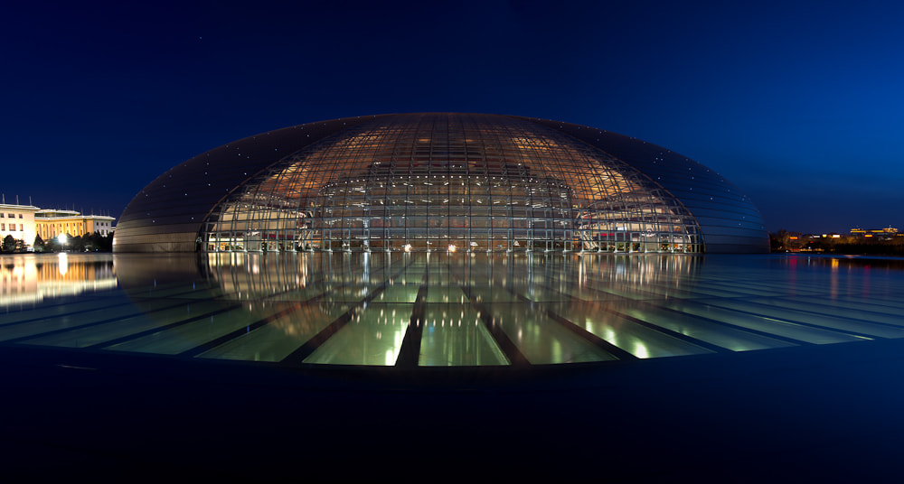 Photograph Beijing NCPA (The Egg) by Chris Jones on 500px