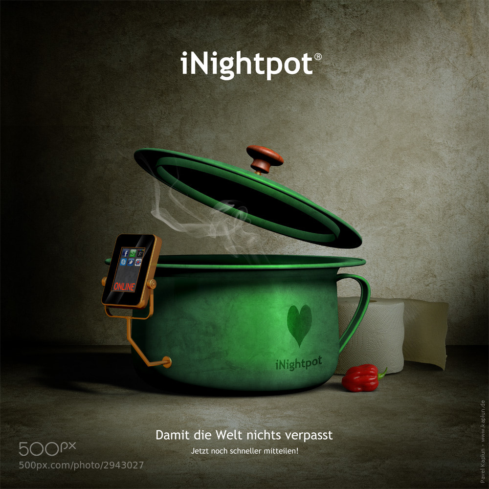 Photograph iNightpot by Pavel Kaplun on 500px