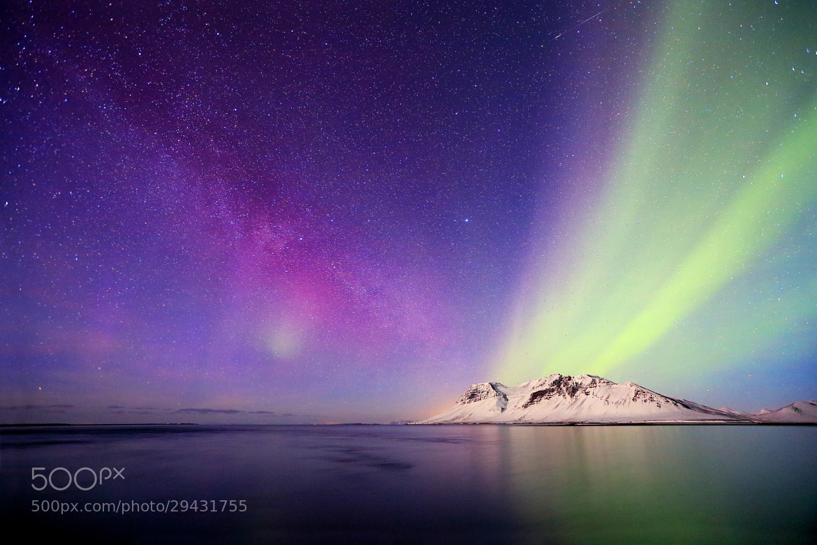 Photograph A Magical Night by Jon Hilmarsson on 500px