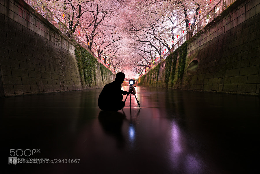 Photograph Photographer on the water surface by Kenji Yamamura on 500px