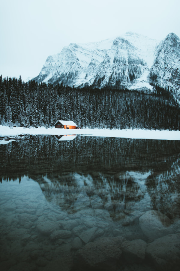 Lake Louise Cabin by Aidan Campbell on 500px.com
