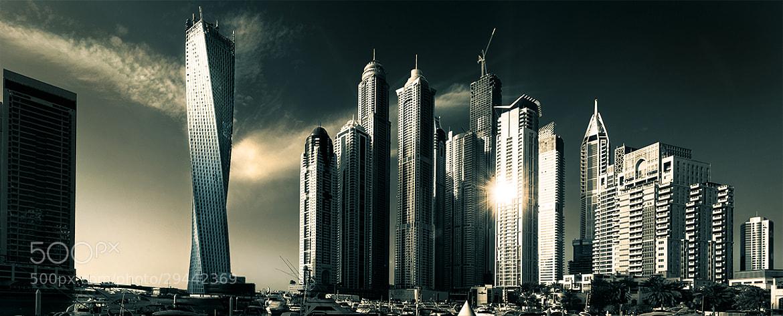 Photograph Dubai Marina by pixeldreamer  on 500px