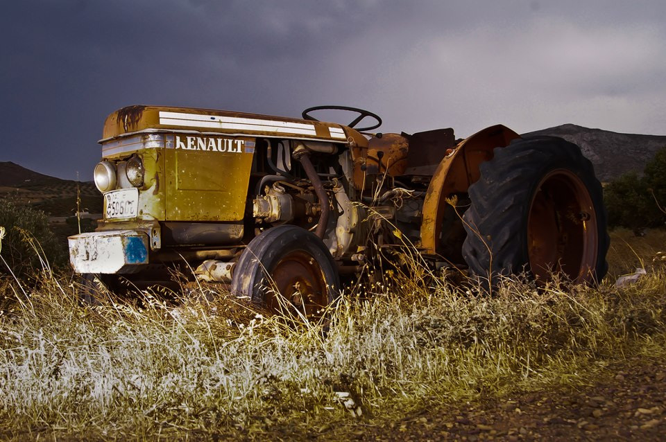 Photograph Old tractor by Alexander Zachen on 500px