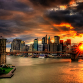 Manhattan by Luis Gomez (Luismi_design)) on 500px.com