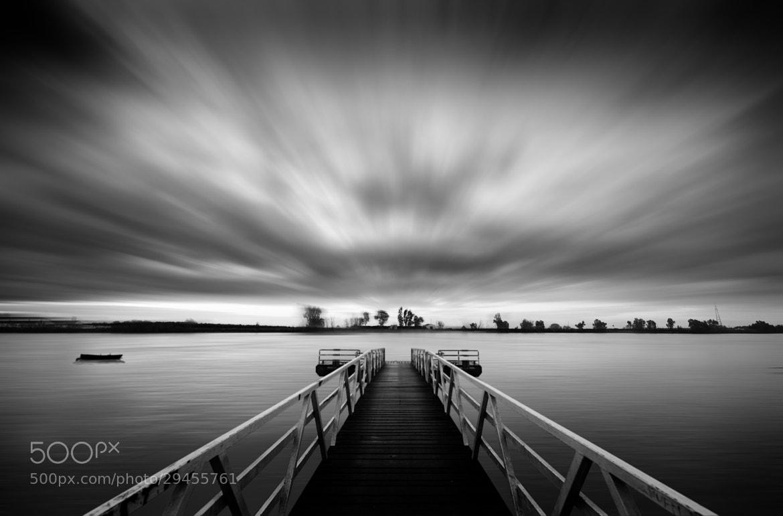 Photograph Pier and Boat by Hani Latif Zaloum on 500px