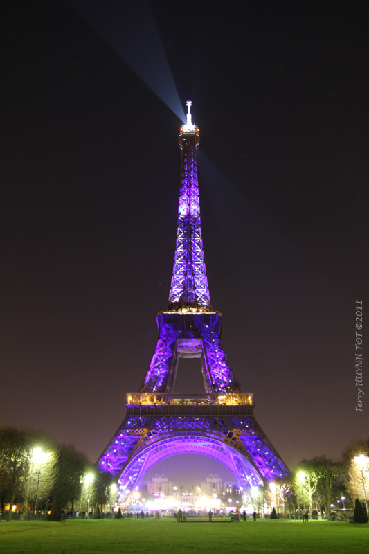 Photograph Eiffel Tower, Paris by Jerry Huynh-tot on 500px