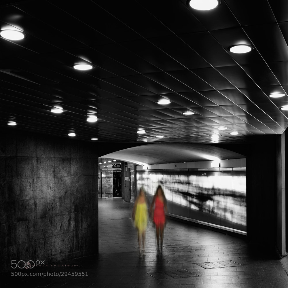 Photograph CITY TUNNEL at saturday night by shoaib  on 500px