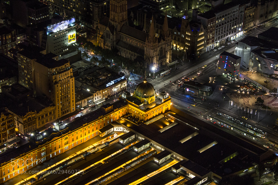 Photograph Flinders Station by Adam Crins on 500px