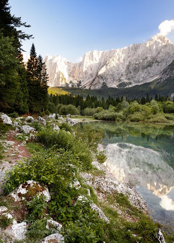 Photograph lago fusine  by Reinhold Samonigg on 500px