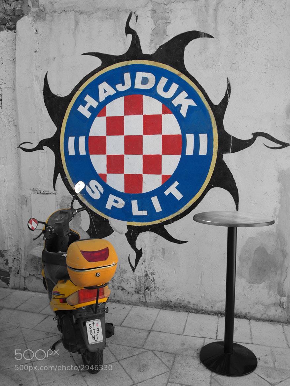Photograph Hajduk Split by Eivind N on 500px