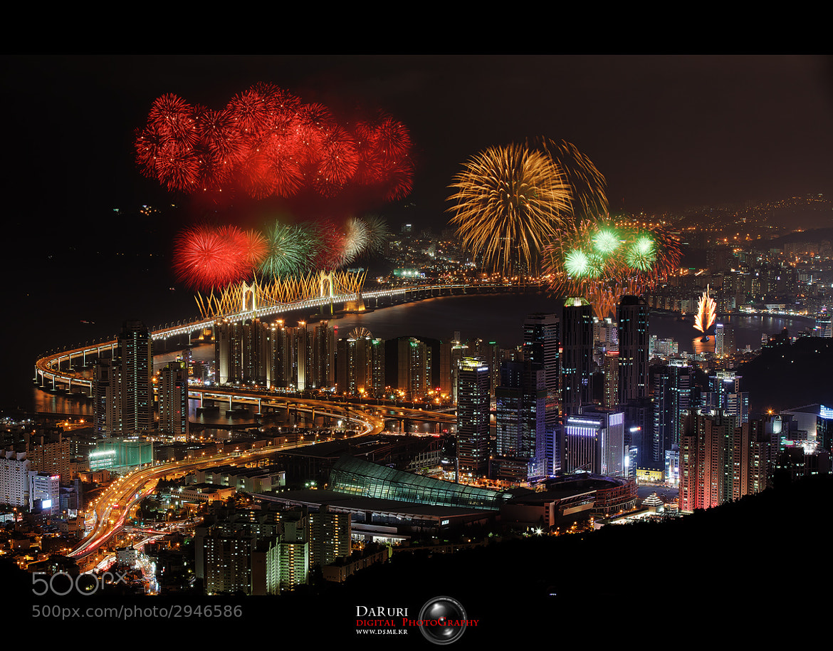 Photograph Busan international fireworks festival by dongwoo kim on 500px