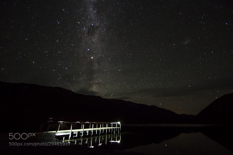 Photograph Lake Rotoiti Milky Way by Adam Crins on 500px