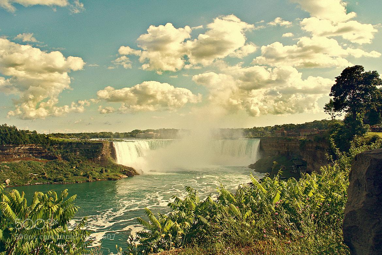 Photograph Niagara falls by Cláudio Lacerda on 500px