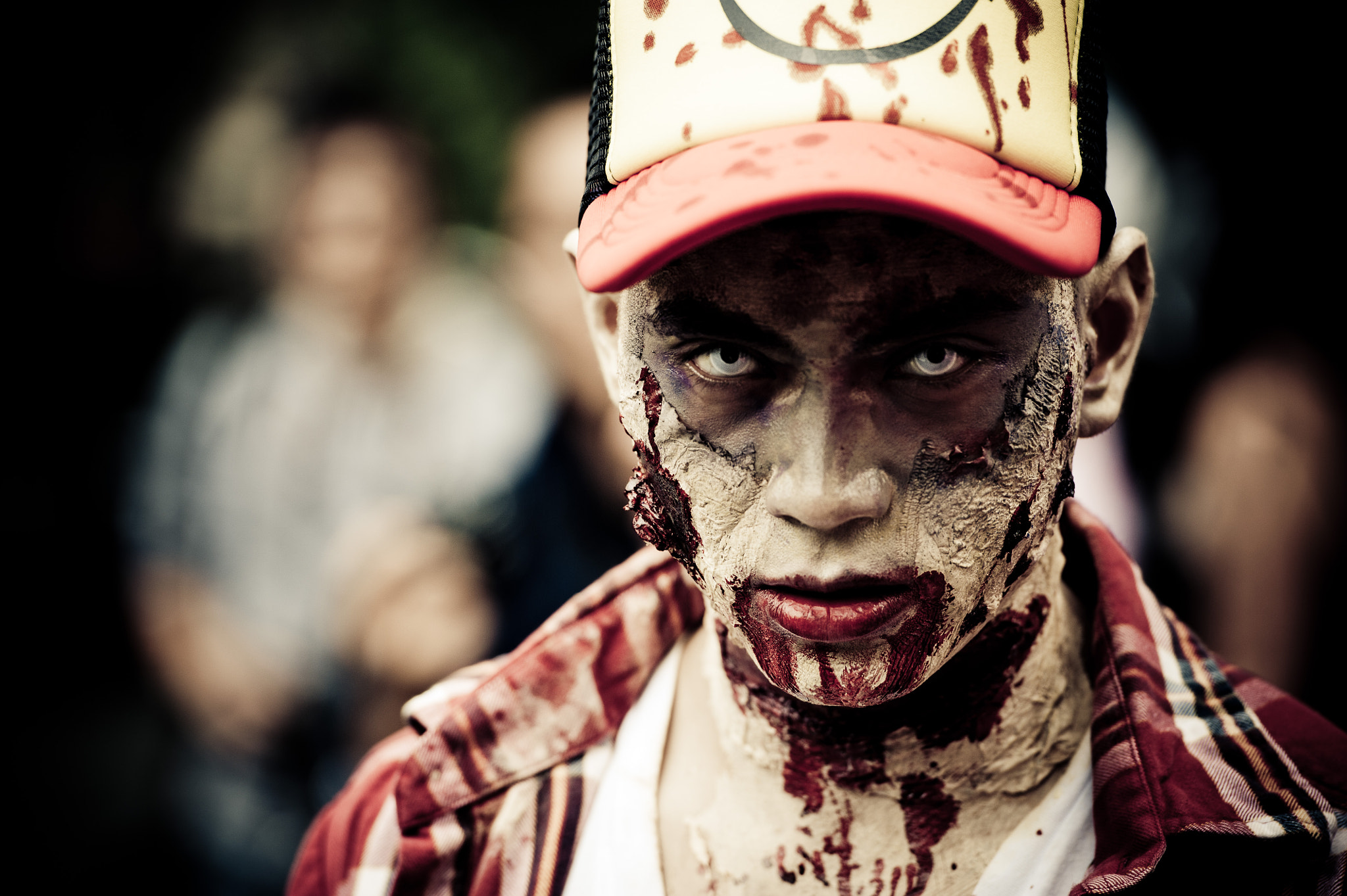 Photograph Melbourne Zombie Shuffle 2011 by Paul Snow on 500px