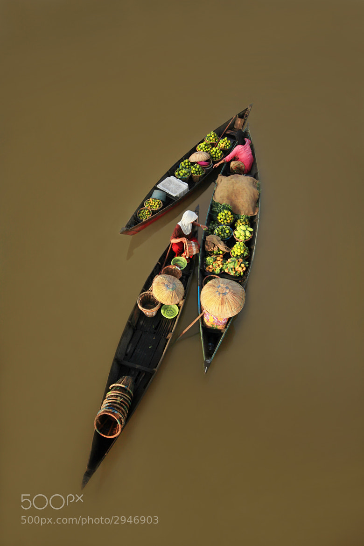 Photograph floating market by Ayie  Permata Sari on 500px
