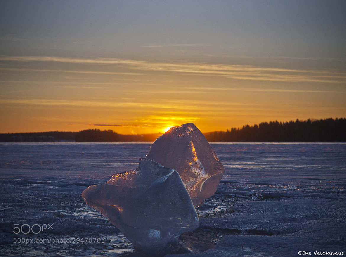 Photograph Sunset on ice II by Jne Valokuvaus / Janne Ahola on 500px