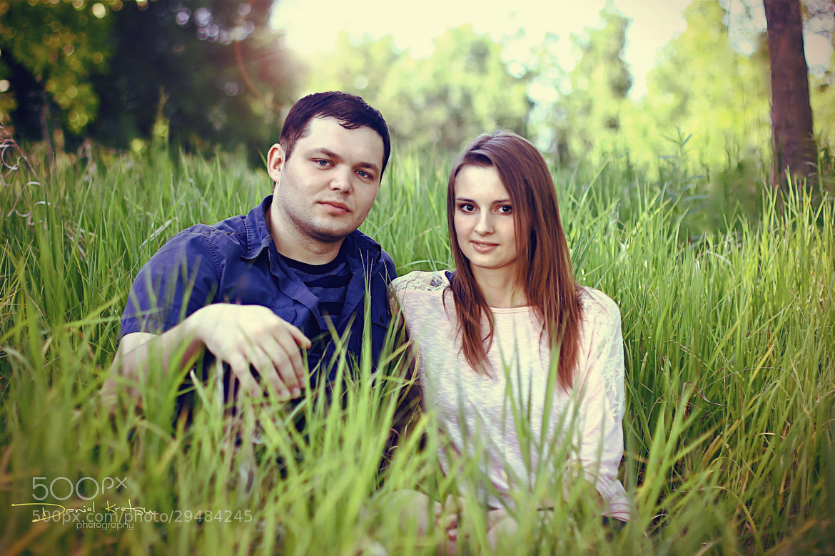 Photograph Couple in the Grass - Color Edit by Daniel Kretsu on 500px