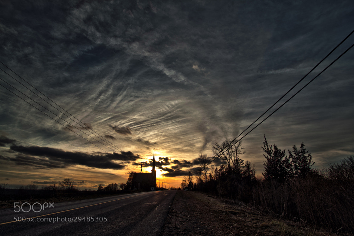 Photograph Small Church, Tall Steeple (HDR) by Matt Molloy on 500px