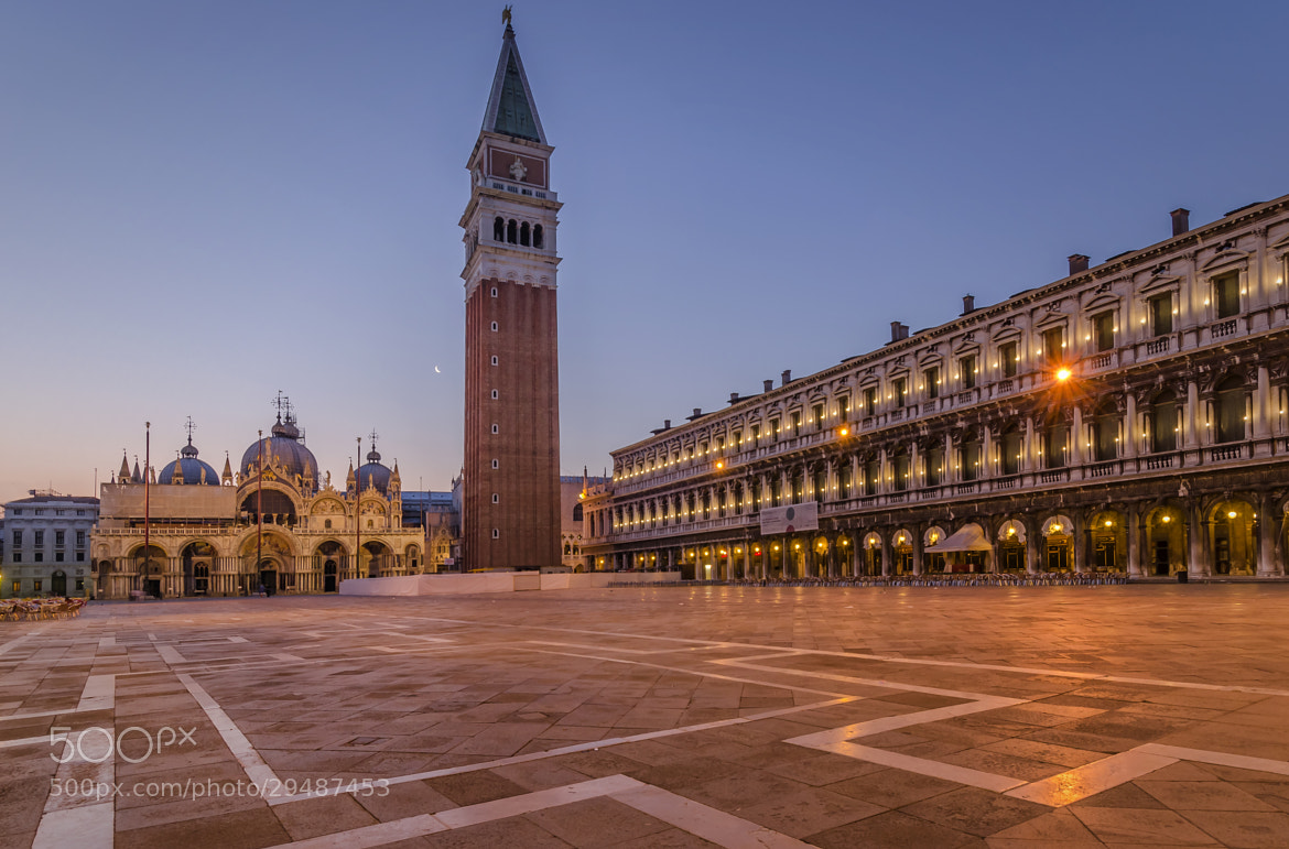 Photograph Dawn at St. Marc Square by Csilla Zelko on 500px