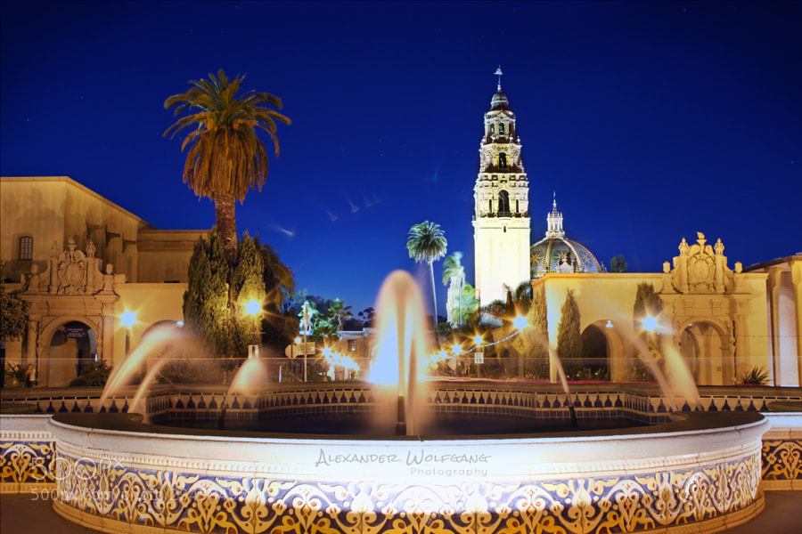 A beautiful night at Balboa Park in San Diego...   https://www.facebook.com/AlexanderWolfgangPhotography