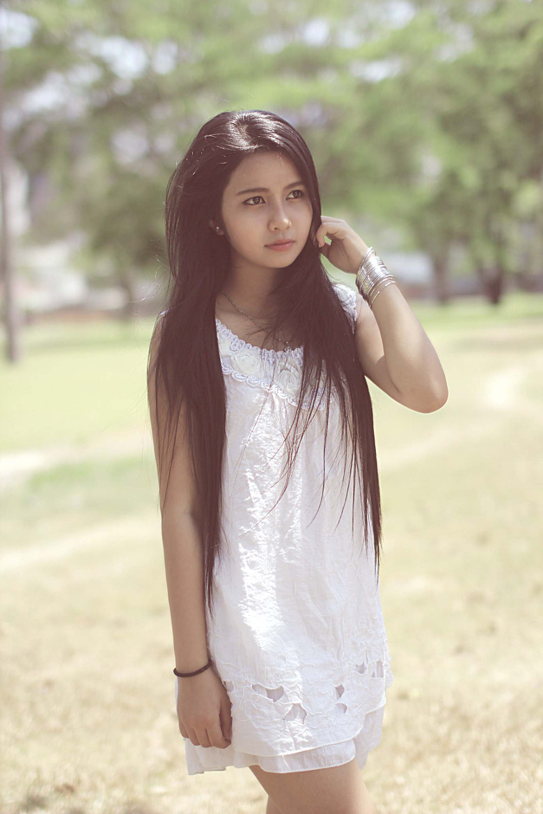 Photograph Tay Nguyen Girl by Duy Nguyen on 500px