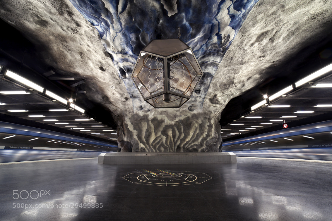 Photograph Stockholm Subway by Valentijn Tempels on 500px