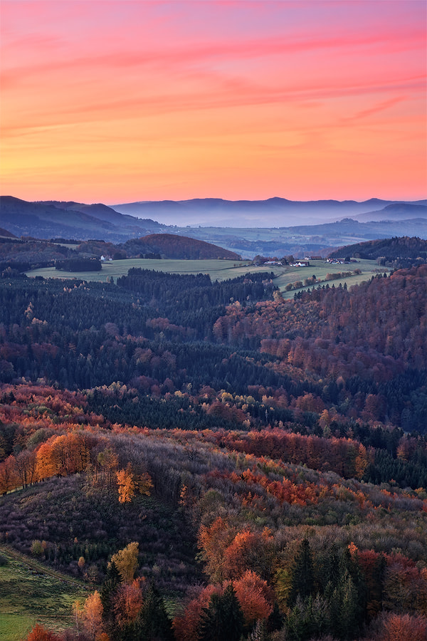 Photograph Autumn View by Michael  Breitung on 500px