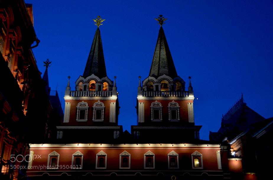 Photograph Blue Night of Kremlin.. by Korhan Karagulle on 500px