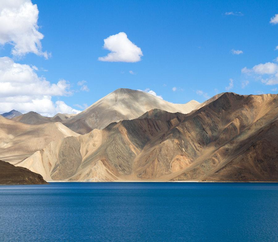 Озеро Пангонг Цо. Pangong Tso Lake (Ladakh, India)