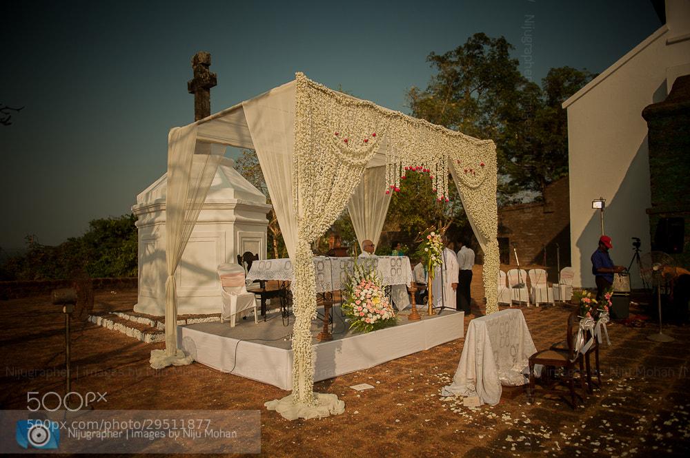 Photograph Goan Christian Wedding - Altar by Niju Mohan on 500px