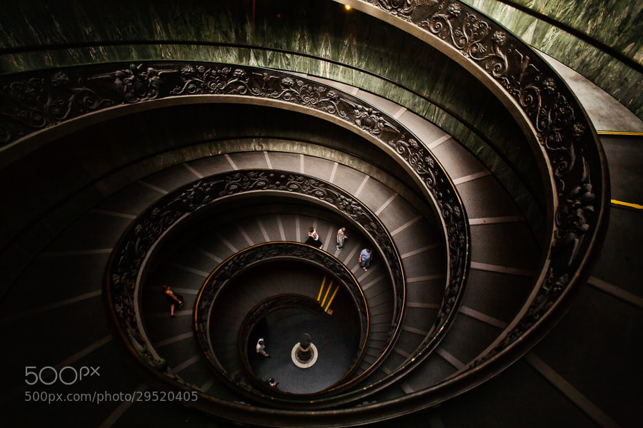 Photograph Spiral Stairs by Neal Burstyn on 500px