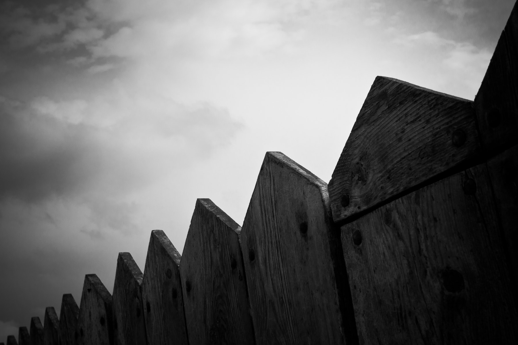 Photograph Wooden Guards by Neil Farrugia on 500px