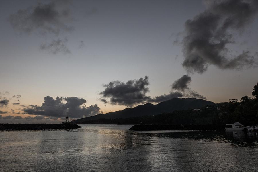 Soir sur Basse-Terre by Christine Druesne on 500px.com