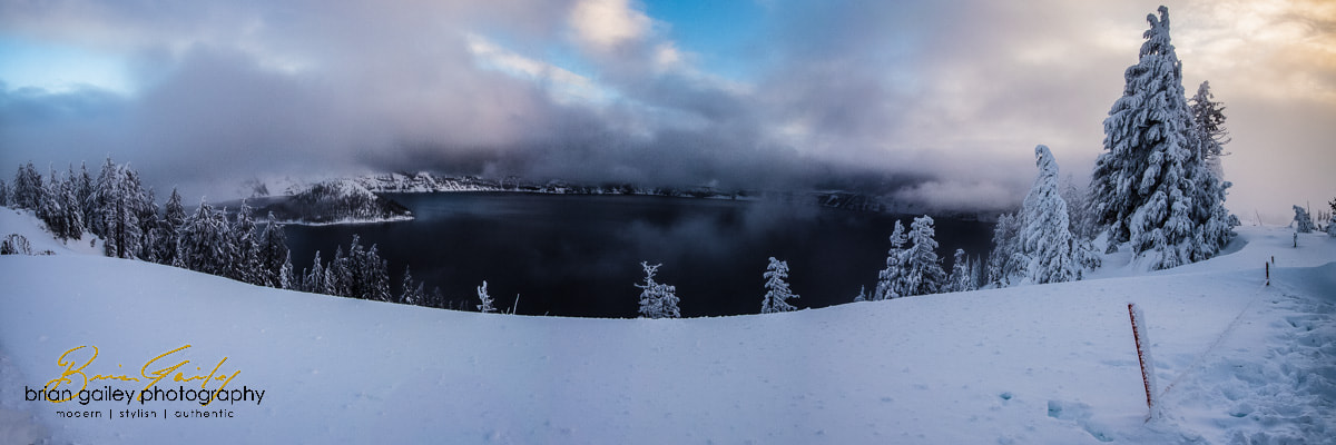 Photograph December Sunrise at Crater Lake by Brian Gailey on 500px