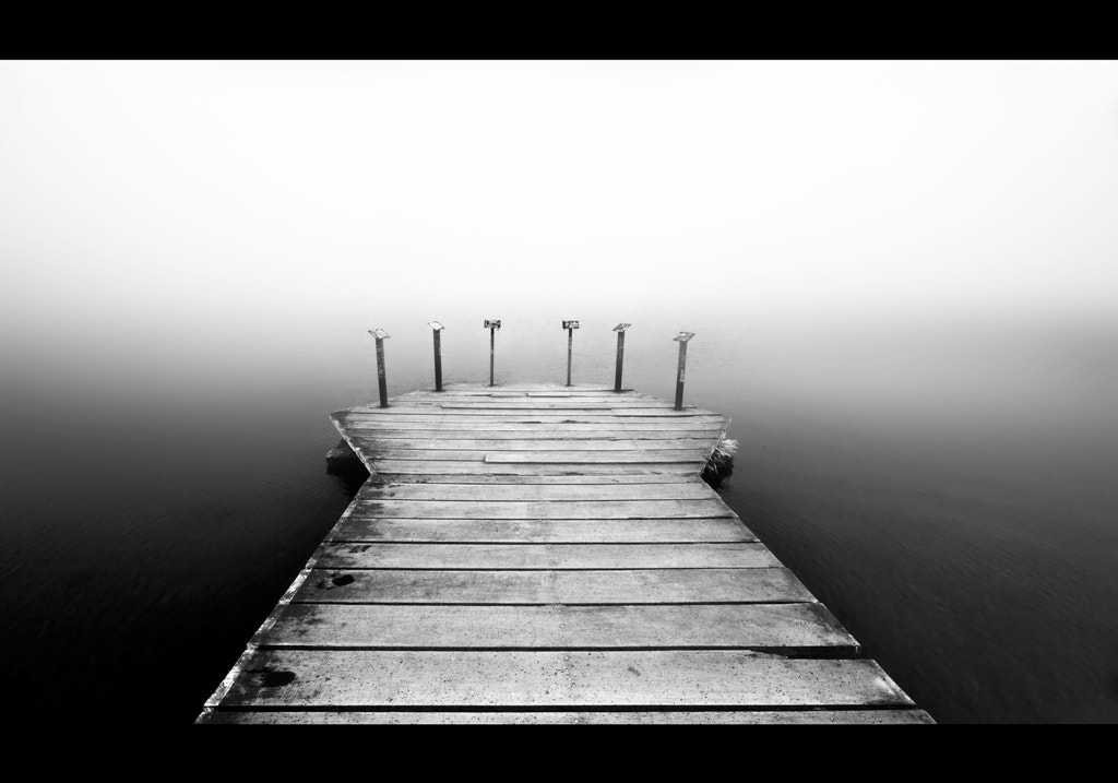 Photograph Minimalist View: The Pier by Jonathan Hackett on 500px