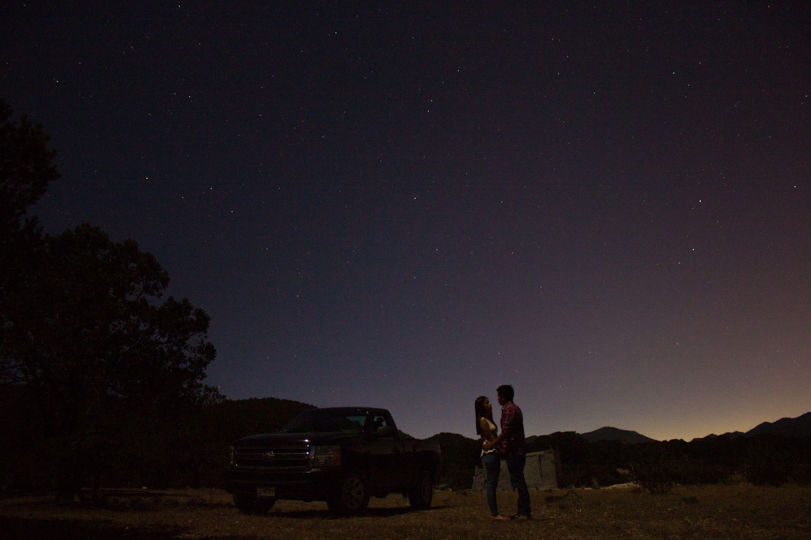Photograph Love under the stars by Adan Rodriguez on 500px