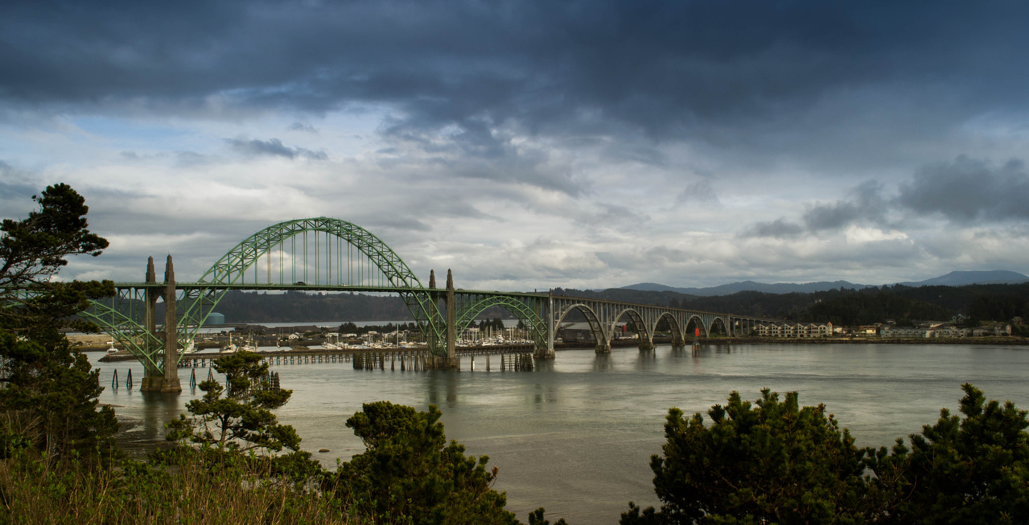 Photograph Yaquina Bay by Garrett Ewing on 500px
