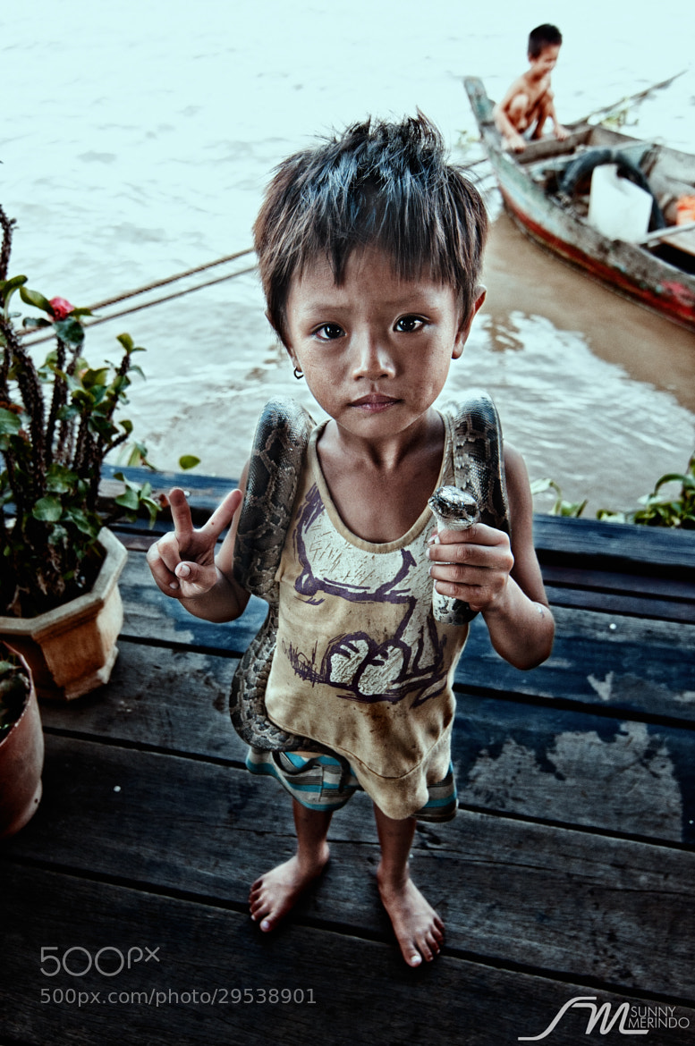 Photograph Tonle Sap Boy by Sunny Merindo on 500px