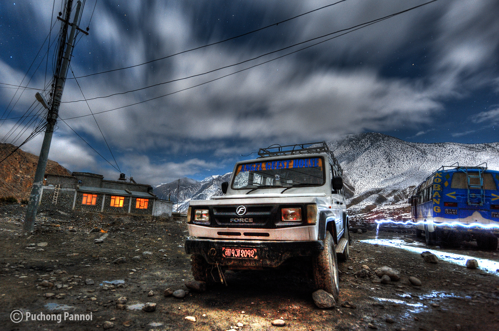 Photograph One night in Jomsom by Puchong Pannoi on 500px