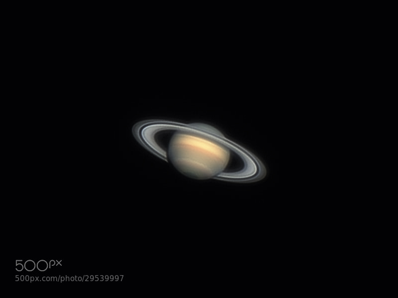 Photograph Saturn, 29 march 2013 by Rafael Defavari on 500px