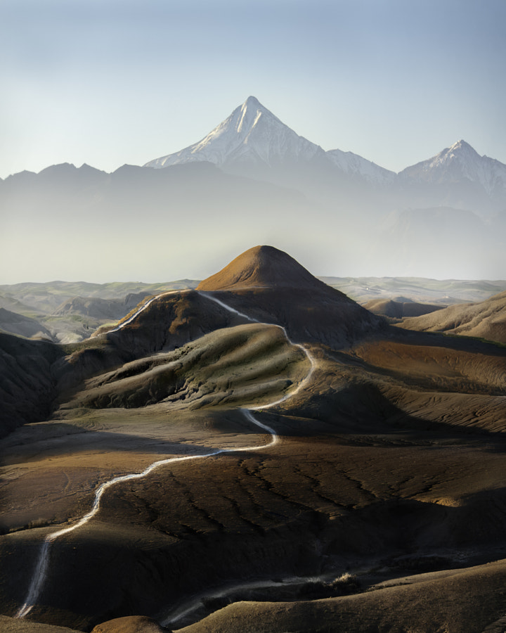 Stone desert & Atlas mountains by Malthe Rendtorff Zimakoff on 500px.com