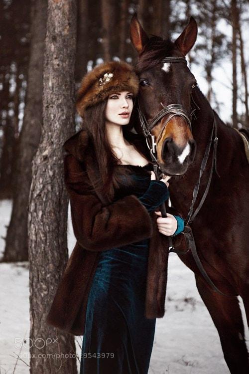 Photograph Russian Beauty by Anastasia Fursova on 500px