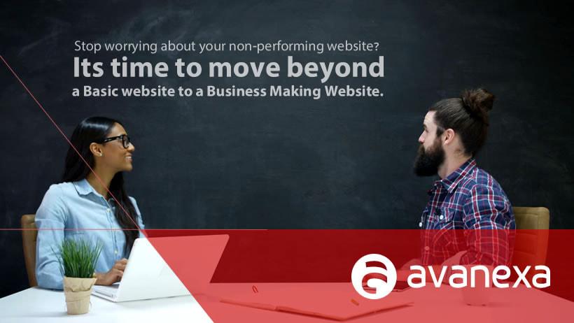 avanexa web development