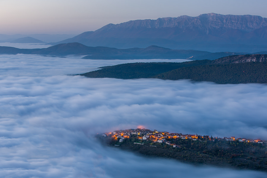 Photograph Village in Morning Clouds. by Hans Kruse on 500px