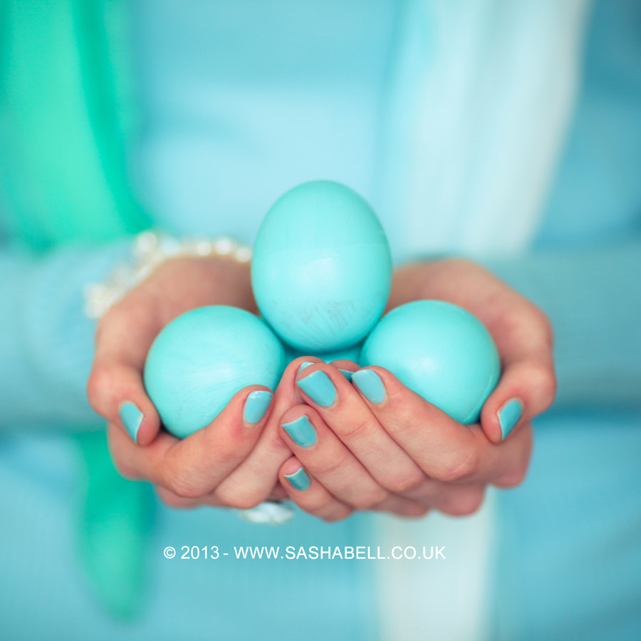 Photograph Blue Easter Eggs by Sasha L'Estrange-Bell on 500px